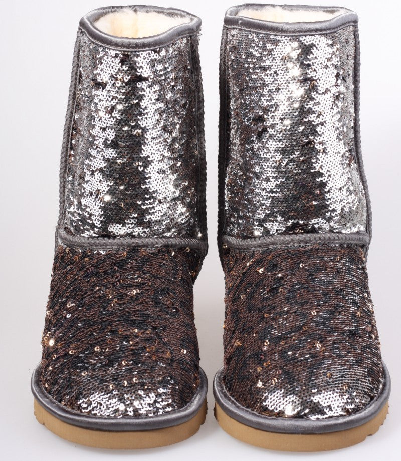 Nash sparkle snow boots