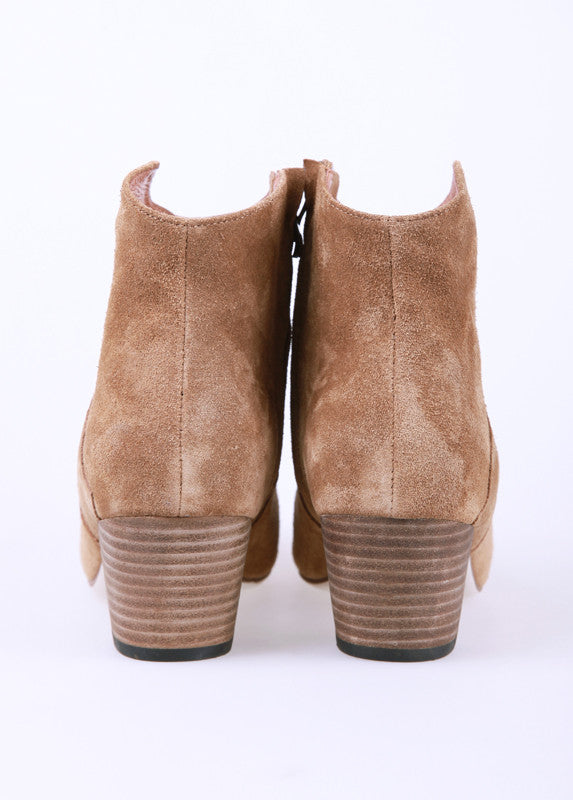 Dakoda Ankle Boots in Khaki