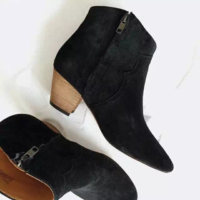 Dakoda Ankle Boots in Black