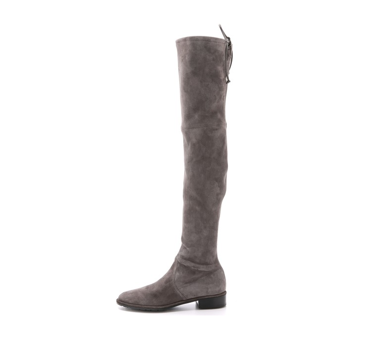 Ellie Over the Knee Boots in Khaki