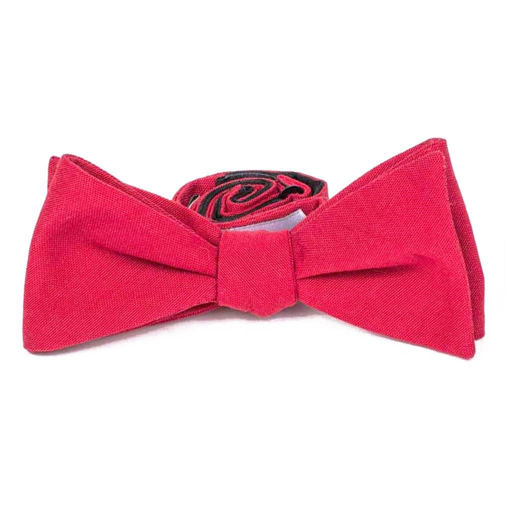 Bow Tie - Cardinal Red Cotton Bow Tie