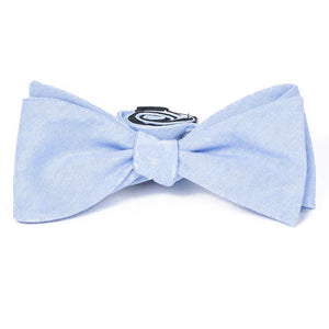 Bow Tie - French Blue Cotton Bow Tie