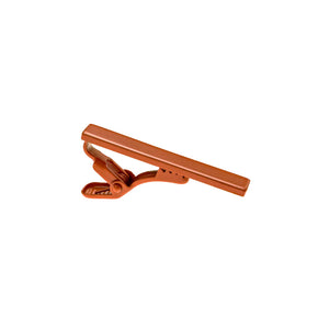 Burnt Orange Tie Clip