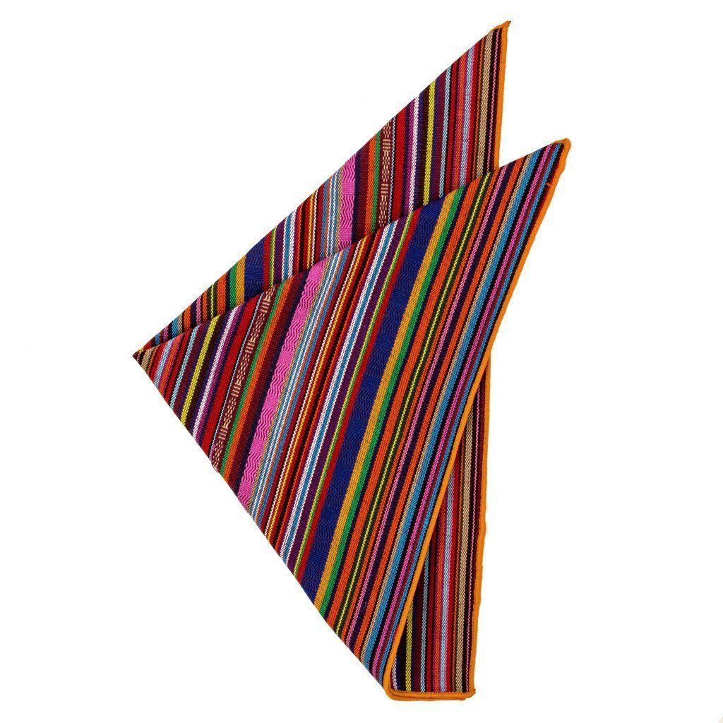 Cotton Pocket Square - Carbajal Serape Pocket Square