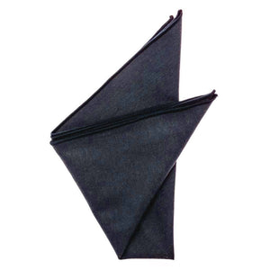 Cotton Pocket Square - Mindy Navy Blue Pocket Square