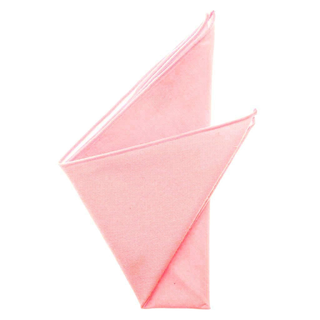 Cotton Pocket Square - Mindy Pink Pocket Square