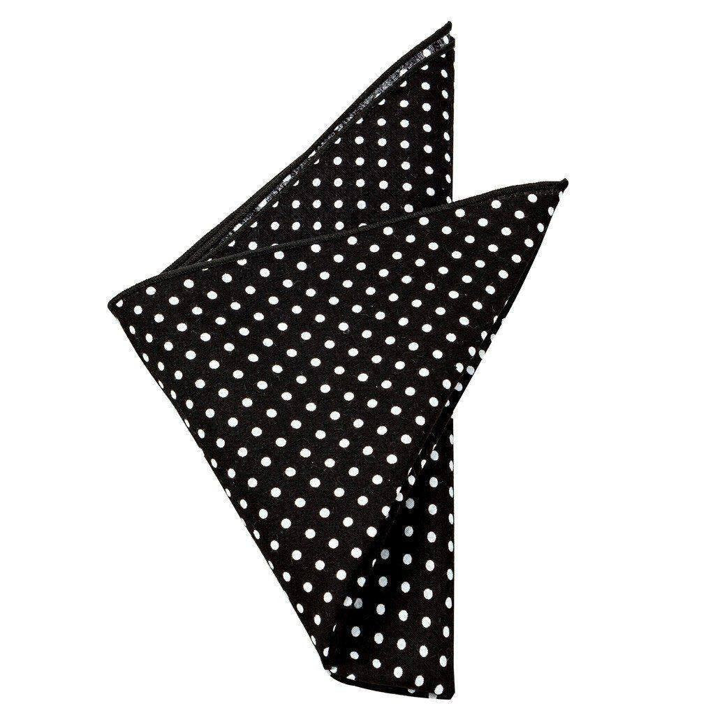 Cotton Pocket Square - Osborne Polka Dot Pocket Square