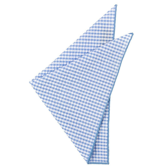 Cotton Pocket Square - Sullivan Seersucker Pocket Square