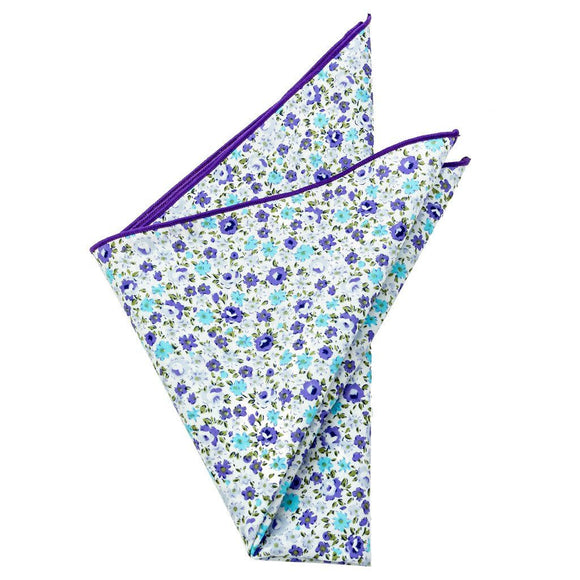 Cotton Pocket Square - Winston Floral Pocket Square