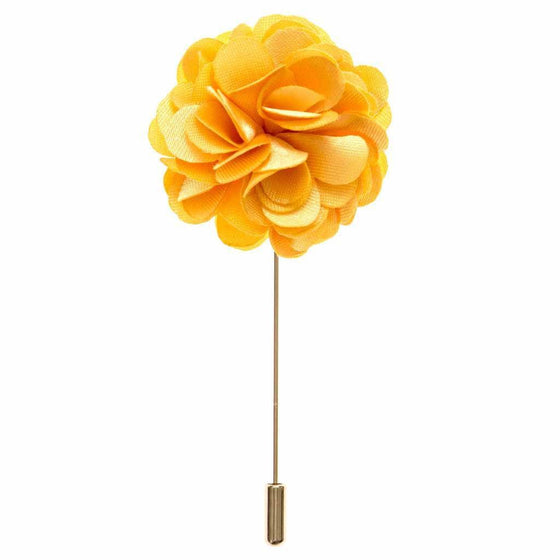 Lapel Pin - Apricot Boutonniere Flower Lapel Pin