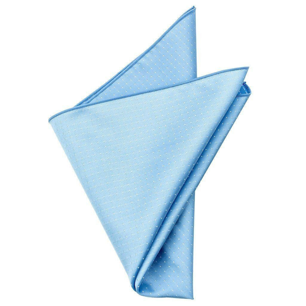 Polyester Pocket Square - Larry Blue Polyester Pocket Square