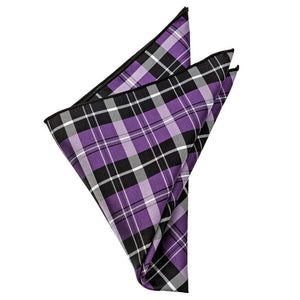 Silk Pocket Square - Fitzgerald Plaid Silk Pocket Square