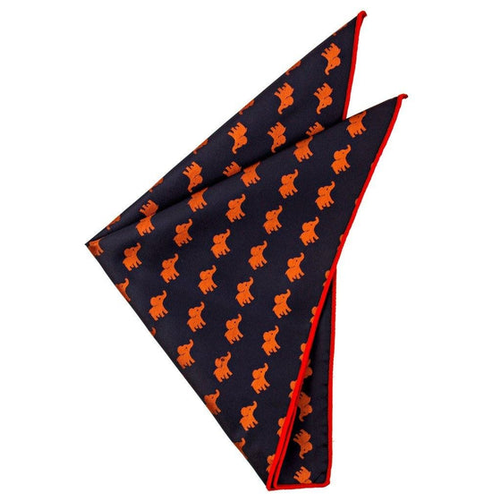 Silk Pocket Square - Reagan Silk Pocket Square