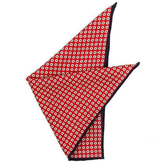 Wool Pocket Square - Parker Wool Pocket Square