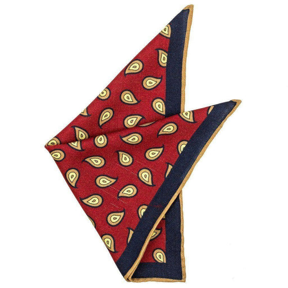 Wool Pocket Square - Percy Wool Pocket Square