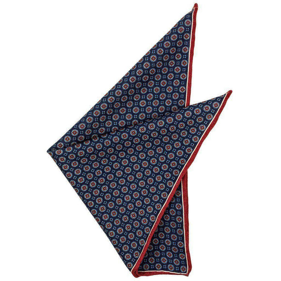 Wool Pocket Square - Pierce Wool Pocket Square