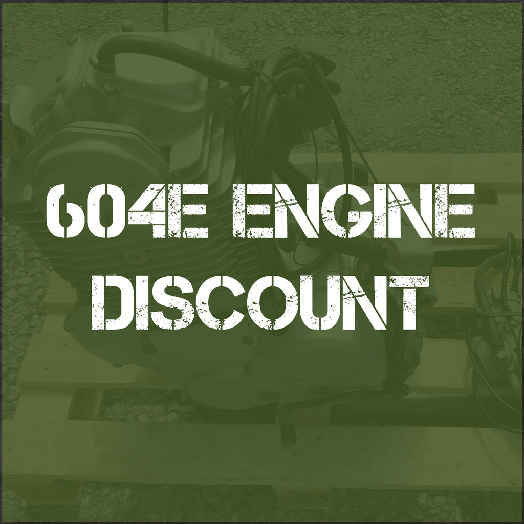 10% Off Rotax 604E Engines!