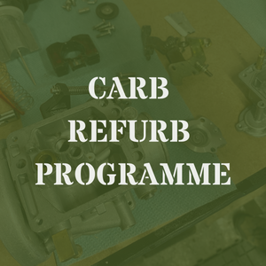 MT350 Carburettor Refurb Programme