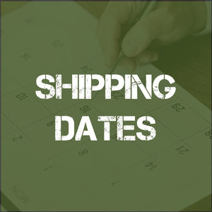Christmas Shipping Update (2018)