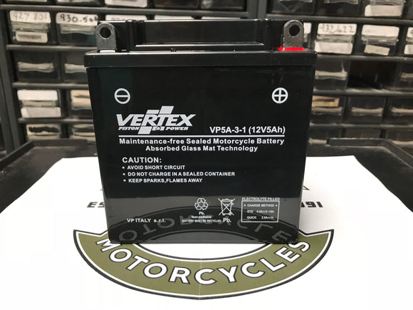 Battery Gel Type 5 AH - MT500 UK (84620012)