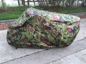 Camouflage Motorcycle Dust Cover