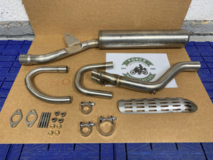 Exhaust System Complete Stainless-Steel - MT350 UK / MT500 US (84710870)