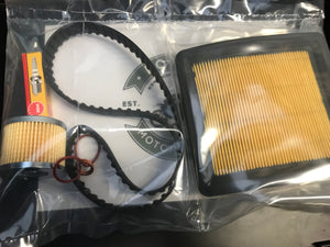 Filter Cam Belt and Spark Plug Service Kit