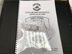 Manual Parts Book - MT350 UK / MT500 US (84771047)