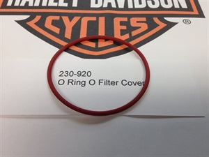 O Ring Oil Filter Cover