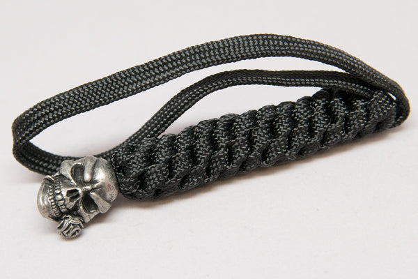 Rose Lanyard Pewter - Closeout