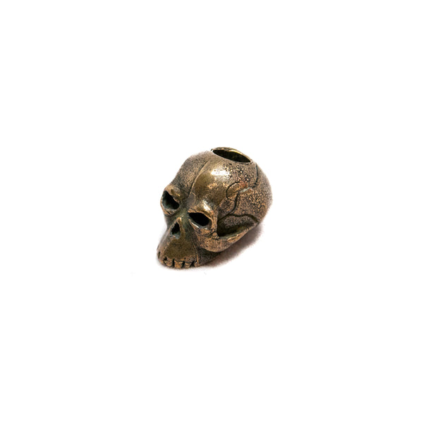 Classic Skull Bead - Solid Oil Rubbed Bronze