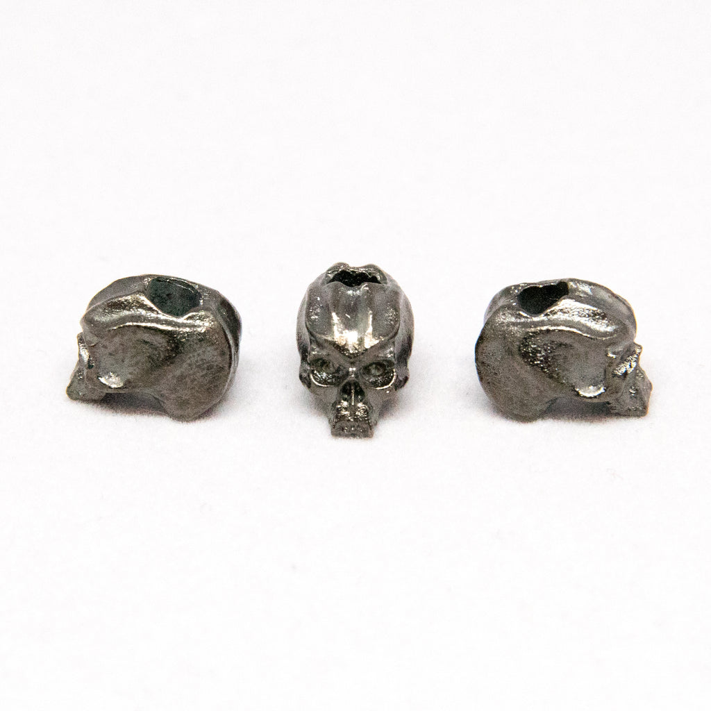 "Cyber Mini Skull Bead (1/8"" Hole)"
