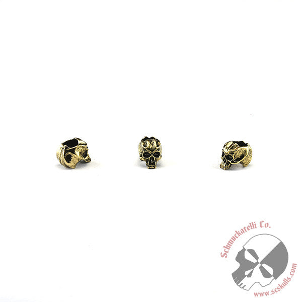 "Cyber Mini Skull Bead (3/16"" Hole)"