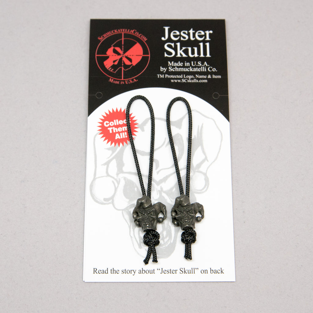 Jester Mini Zipper Pull - Set of 2