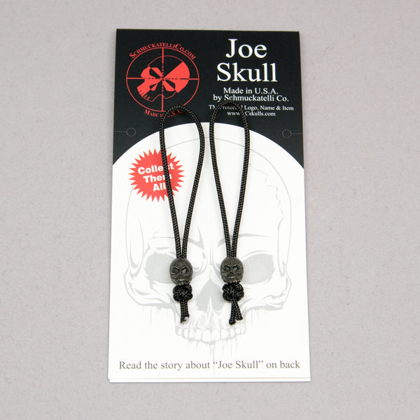Joe Mini Zipper Pull - Set of 2