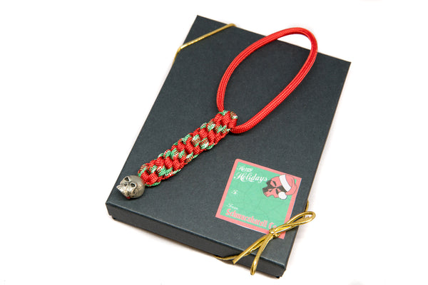 Classic Christmas Lanyard with Gift Box