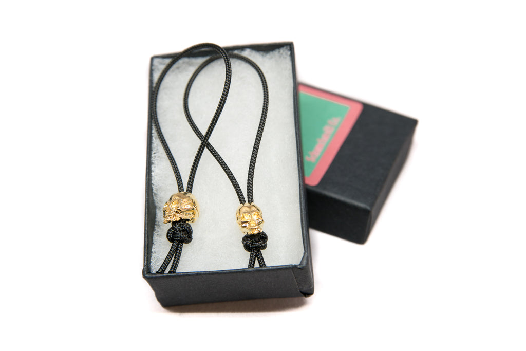 Joe 18k Gold Christmas Mini Zipper Pulls with Gift Box