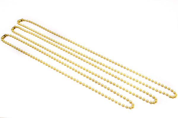 Ball Chain Necklace - Yellow Brass