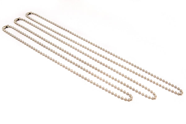 Ball Chain Necklace - Nickel Plated