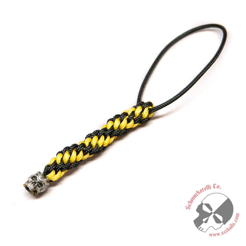 Cyber Mini Pewter Lanyard