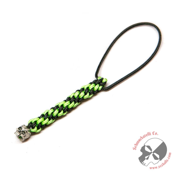Cyber Mini Pewter Lanyard - Closeout