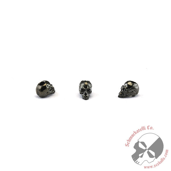 "Joe Skull Bead 1/8"" Hole"