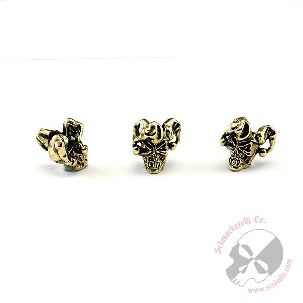 "Jester Mini Skull Bead 3/16"" Hole"