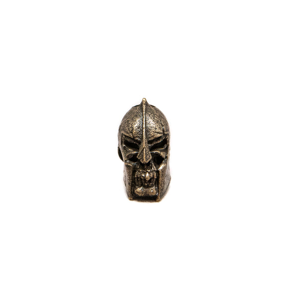 Spartan Skull Bead - Solid Oil Rubbed Bronze