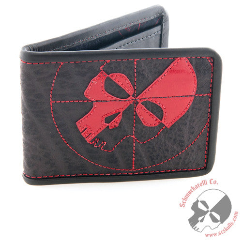 Black Cape Buffalo Wallet