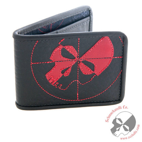 Shrunken Bull Shoulder Wallet
