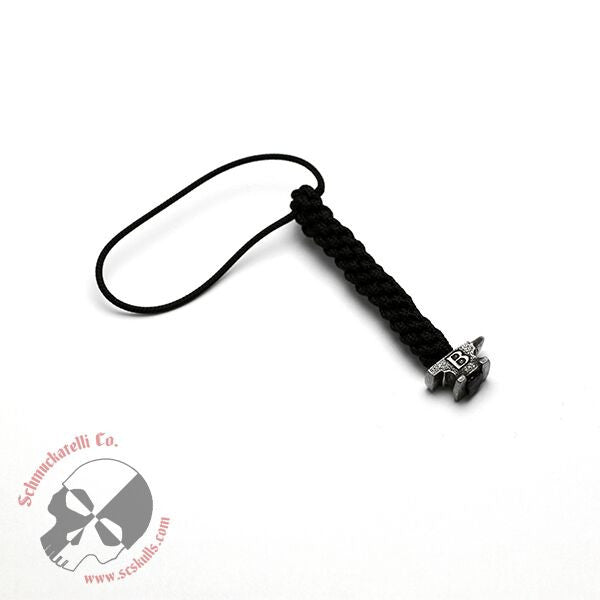 Buck Anvil Bead Mini Lanyard - Black
