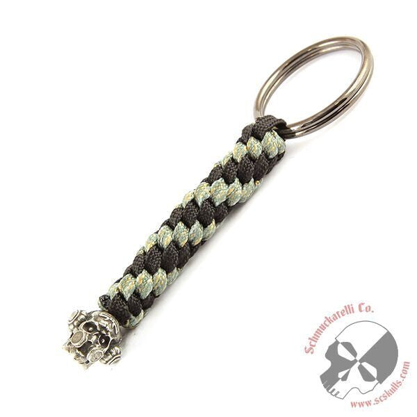 Brous Gas Mask Skull Key Fob