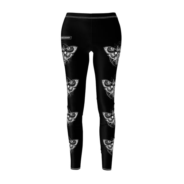 Death Moth Leggings Black