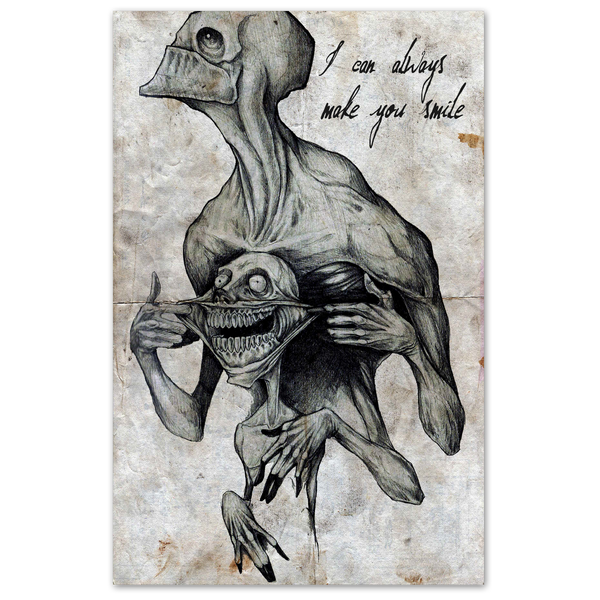 I Can Always Make You Smile 11x17 Any Means Necessary Shawn Coss Print Poster